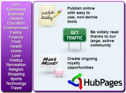 So you love to write?  Come and be part of the HubPages community.