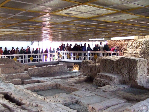 Inner sanctum of Maya Devi Temple