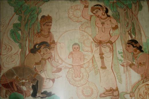 The birth of the Buddha