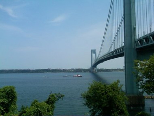 Verrazano Bridge, Brooklyn, New York