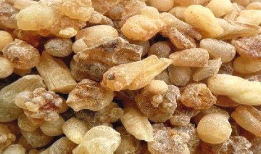 Frankincense resin tears