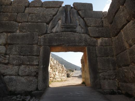 The famous Lion's Gate