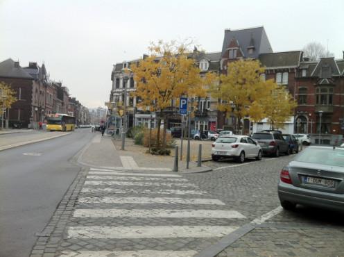Place des Franchises, Liège