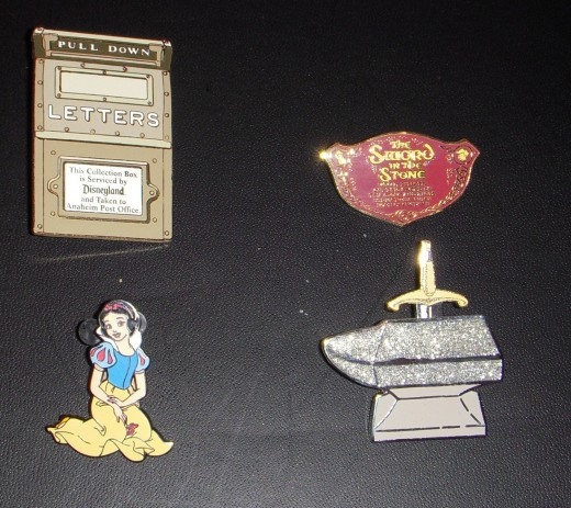 Some pins are available only to annual pass holders, or are limited editions.