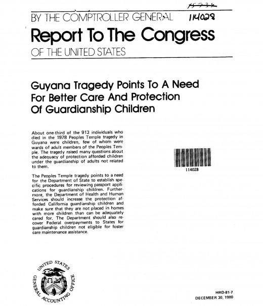 Even the Guyana Tragedy of 1978 discusses children.  This isn't a new concept!