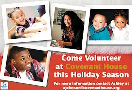 Come Volunteer at Covenant House's many Programs.