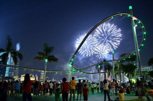 Singapore offers its residents plenty of activity both day and night.