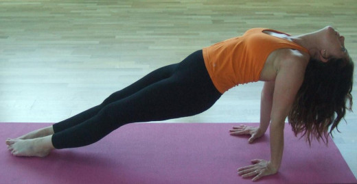 Upward Plank Pose