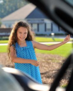 """Lauren Etchells as Emily in """"Courageous."""""""