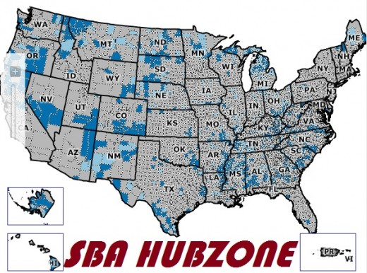 The SBA HUBZone is a great starter certification for businesses that qualify.