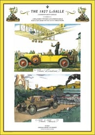 A 1927 Dealer ad for the new LeSalle