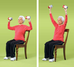Doing low impact exercise is important as you age. This will help decrease aches and pains, and increase your body health.