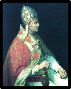 The Blessed Pope Urban V served as Pope for 8 years from 1362-1370.  His Feast  Day is celebrated on December 19th.