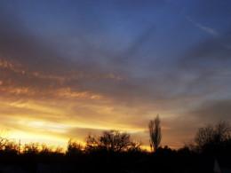 a darkening sky threatens