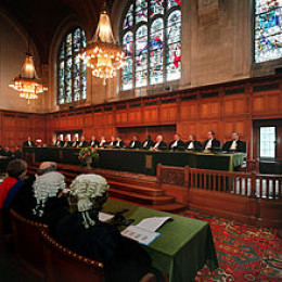Public Hearing at the International Court of Justice