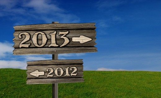 2012  ends and 2013 begins as the New Year