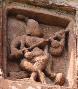 Goddessaraswati, the Goddess of Learning in terracotta; Makuti