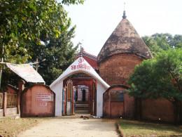 The temple of Goddess Mauliksha