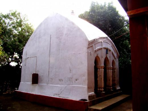 Temple of Goddess Mauliksha,. Maluti
