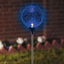 Solar Color Changing Gazing Ball Garden Light