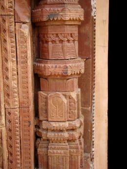 Terracotta pillar; Maluti