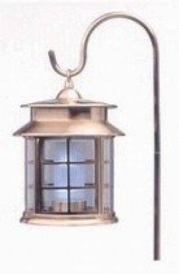 Solar Outdoor Lights - Copper Finish
