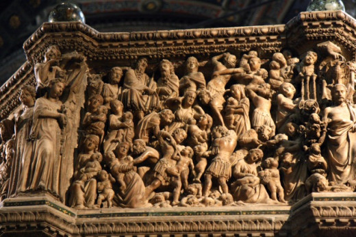 """""""Slaughter of the Innocents"""" - Siena Duomo: Pisano Pulpit"""