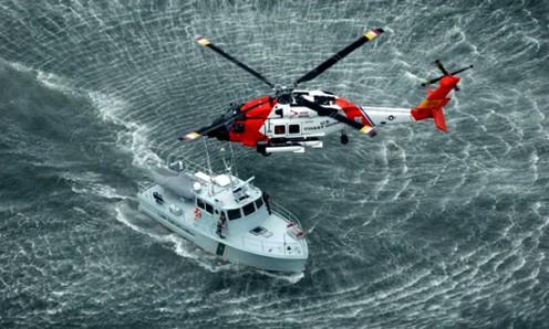 Falta el barco y el helicóptero debido a nuestra expectativa de cómo el Señor venga a nosotros!
