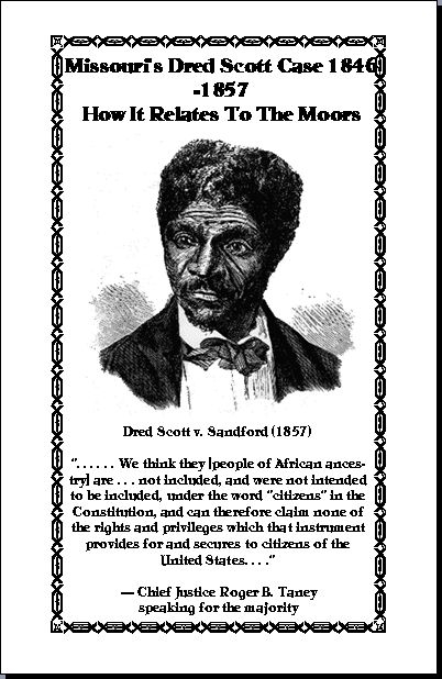 Dred Scott: Changing America