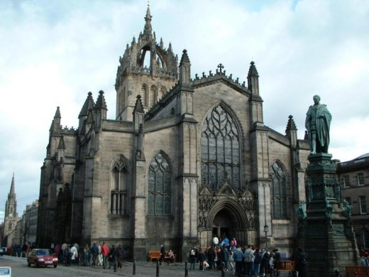 St. Giles Cathedral on the Royal Mile