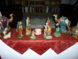 My handmade nativity set