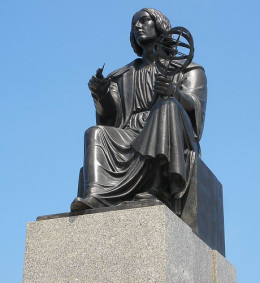 Creative thinking allowed Copernicus to think outside the accepted thinking of his day and develop his earth-shattering theories about the sun being the center of our solar system.
