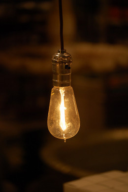 Without creativity, could Edison have conceived of the light bulb?