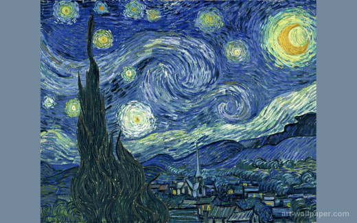 Painter Vincent Van Gogh suffered from severe depression, hallucinations, and eventually took his own life
