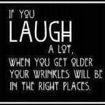 Sadness cannot survive laughter
