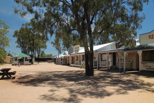 Historic Village in Miles, Queensland.