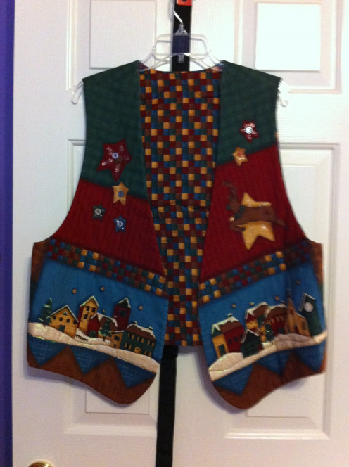 Ugly Sweater Vest (front)