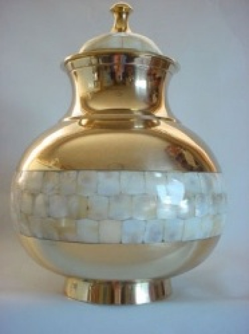 Mother of Pearl Discount Urn