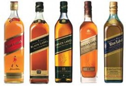 Johnnie Walker Takes a Back Seat