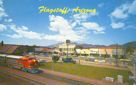 Flagstaff downtown circa 1965, still looks pretty much the same