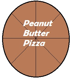 Peanut Butter Pizza is a delicious twist to traditional pizza.  Try and enjoy!