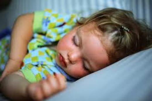 Children can suffer sleep apnea