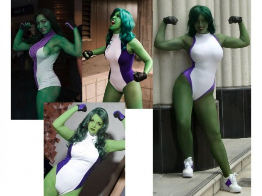 She Hulk Cosplay Costumes