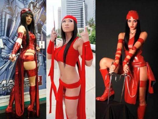 Elektra Cosplay Costumes