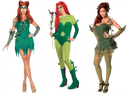 Poison Ivy Halloween Costumes