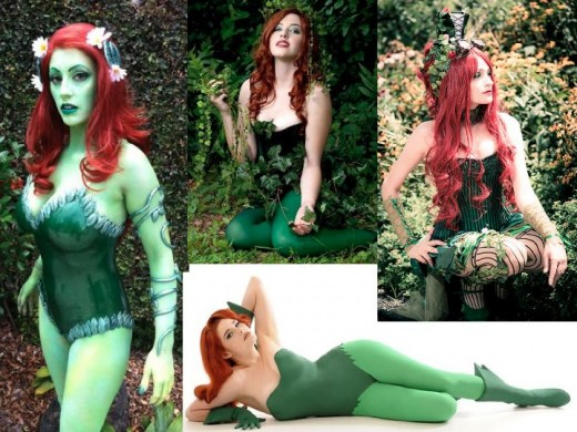 Original Poison Ivy Cosplay Costumes