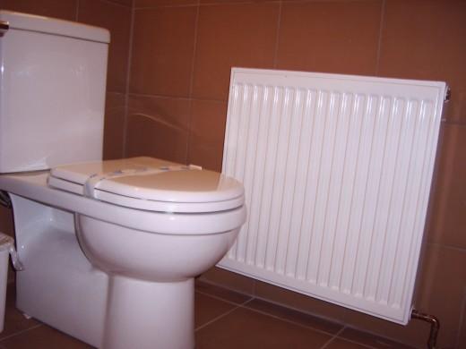 water saver toilet, slick radiator