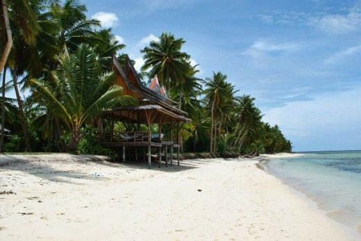 Philippines Manila Beaches. The Siargao Island. This newly