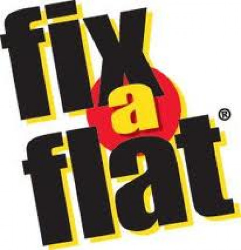 Fix a Flat helps get you out of a tight spot by filling up your tire and sealing it. It will not work if the hole in the tire is too large.