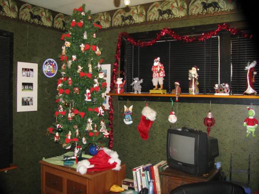 The Santa tree